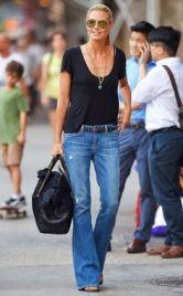 flare jeans heidi