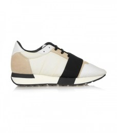 BALENCIAGA SUEDE MESH ANDF QUILTED SNEAKERS