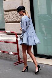 backward dress