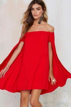 off the shoulder dress hot