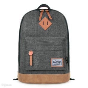 EcoCity Student Backpack For Boys,Herschel Classic Teenager's School Bag,Men Canvas Backpack Bag,Girl's Mochila Rucksack