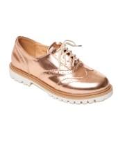 brogue pinkwoman shoes