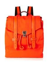 proenza schouler psi leather trim nylon backpack