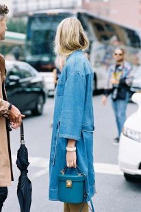 robe denim jacket