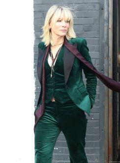 Blanchett in green