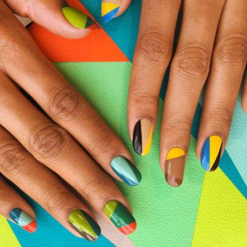 graphic design nails