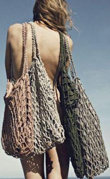 fishnet bags