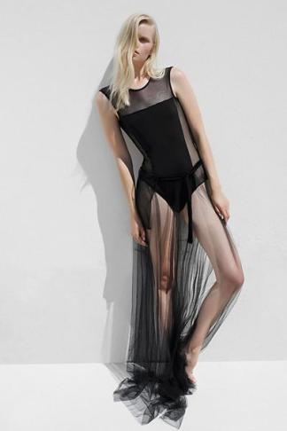 black wrao skirt