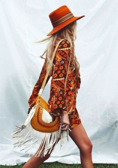 bohemian touch the crochet details