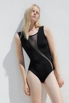 deep slash swimsuit