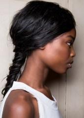 low voluminous braid