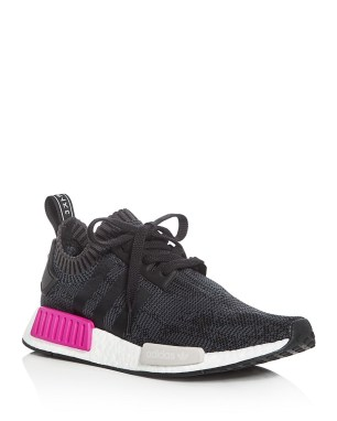 nmd r1 knit lace up sneakers