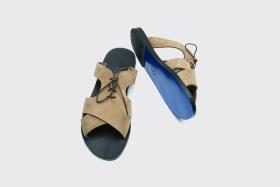 kos suede sandals
