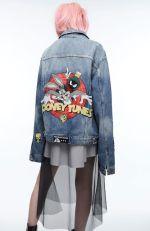 zara jacket looney tunes