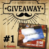 Father's Day Giveaway #1 : $100 Sport Chek Gift Card