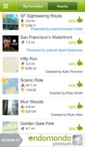 Endomondo Sports Tracker Screenshot5
