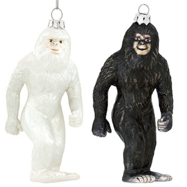 Bigfoot Christmas Ornament
