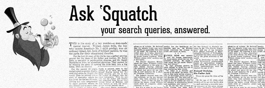 Ask 'Squatch