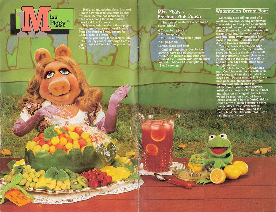 Muppet Picnic Cookbook Pages 3-4