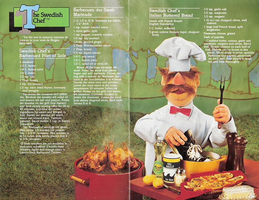 Muppet Picnic Cookbook Pages 9-10