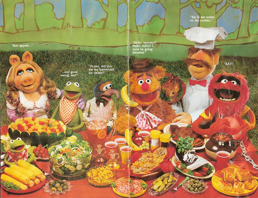 Muppet Picnic Cookbook Pages 13-14