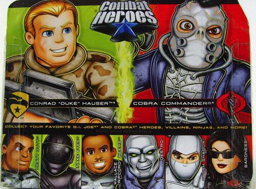 Combat Heroes Cobra Commander