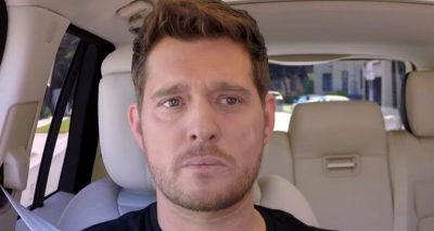 Emotional Michael Buble opens up about son's cancer diagnosis on Carpool Karaoke | Top Indi News