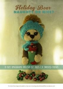 Søde, Små Jule Bamser af Tales of Twisted Fibers
