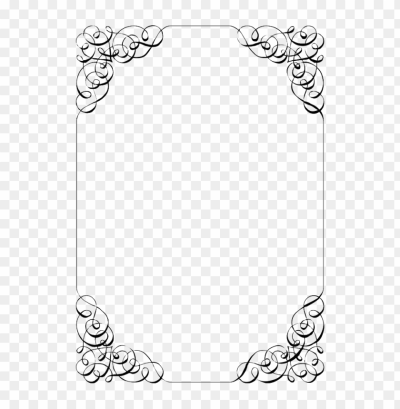 wedding invitation border png - Free PNG Images | TOPpng