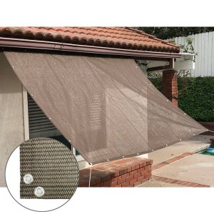 Alion Home Sun Shade Privacy Panel with Grommets and Hems on 4 Sides