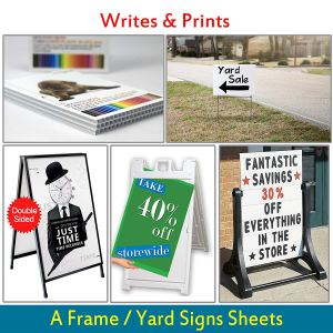 Top 5 best portable outdoor signs in 2019 review.