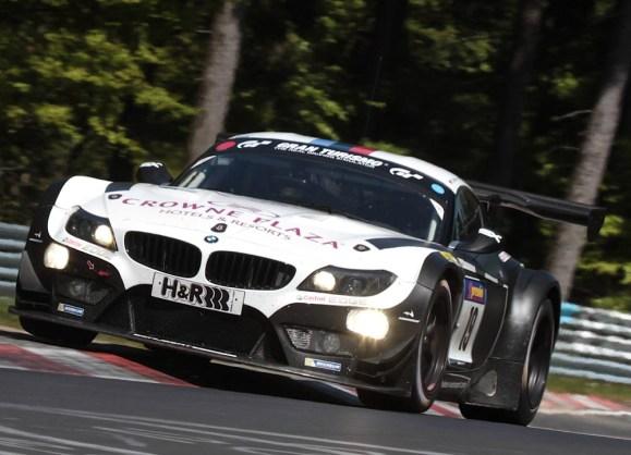 "Dominik Baumann in der ""grünen Hölle"" © Schubert Motorsport"