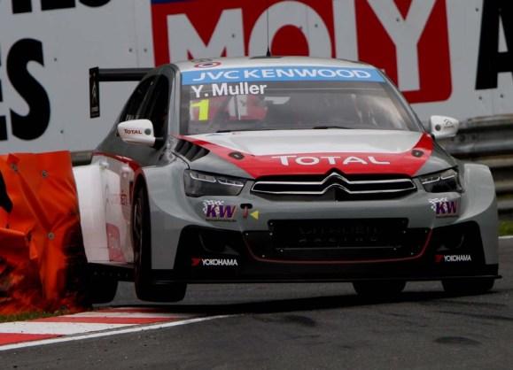 Yvan Muller steht überraschend auf der Pole Position © Rudolf Beranek