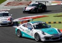 Rang zwei für Klaus Bachler in Monza © Porsche AG
