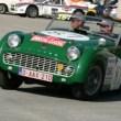 Der Belgier Yannick Jaaman auf Triumph TR3