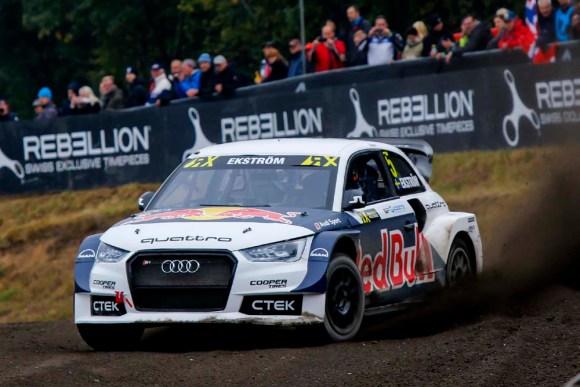 Vorzeitiger WM-Titel für Mattias Ekström im Audi S1 EKS RX quattro © Audi Sport
