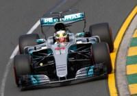 Lewis Hamilton war schnellster im Mercedes F1 W08 © Daimler AG