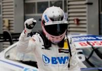 Lucas Auer jubelt über seinen zweiten Saisonsieg © DTM