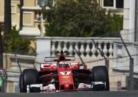 Kimi Räikkönen in den Strassen von Monaco © Ferrari Media