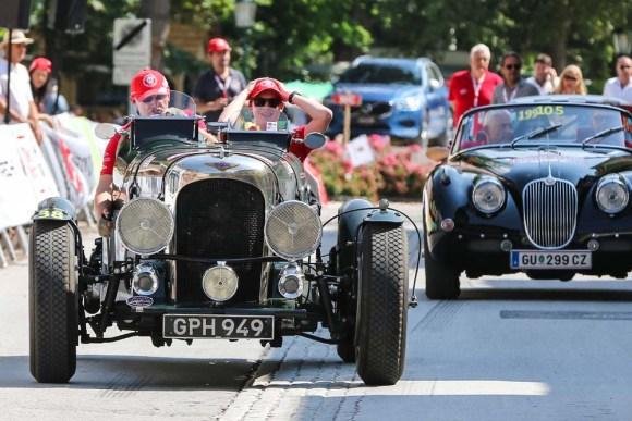 Überraschungssieger Alexander Deopito und Florian Deopito, im Lagonda LG 6 Le Mans Special ©