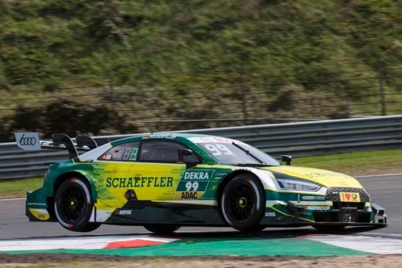 Nachträglicher Sieg für Mike Rockenfeller © Audi AG