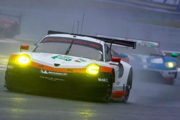 Richard Lietz/Frederic Makowiecki © Porsche AG