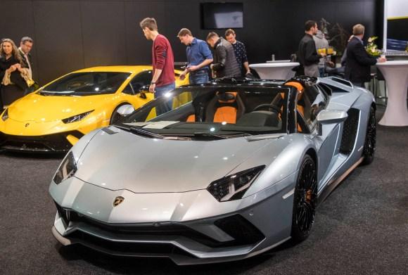 Lamborghini Aventador S Roadster © Reed Exhibitions Wien/Andreas Kolarik