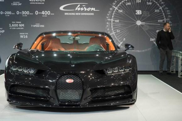 Bugatti Chiron © Reed Exhibitions Wien/Andreas Kolarik