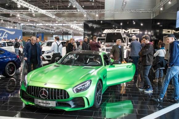 Mercedes S 63 AMG Coupé © Reed Exhibitions Wien/Andreas Kolarik