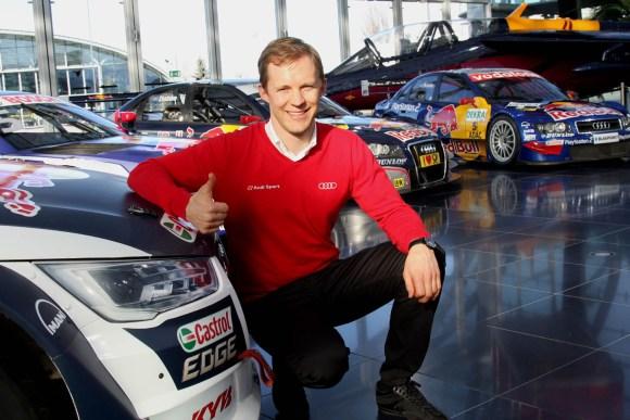 Mattias Ekström konzentriert sich auf die Rallycross-WM © Topspeed - Rudolf Beranek
