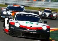 Lietz/Bruni knapp am Podest vorbei © Porsche AG