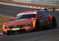 Lucas Auer stand im ersten Rennen am Podest © Daimler AG