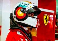 Sebastian Vettel mit neuem Helmdesign zur Poleposition © Ferrari Media