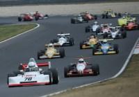 Das große Starterfeld der Formel Historic © Histo Cup